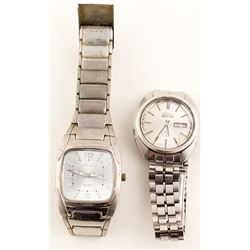Two Men's Wrist Watches