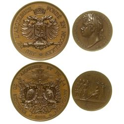 Two Commemorative Medals