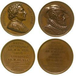 Two Bronze Series Numismatica Medals