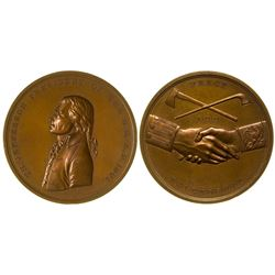 Bronze Peace Medal Restrike