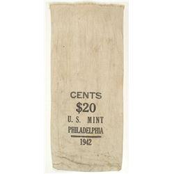 U. S. Mint Cloth Money Bag