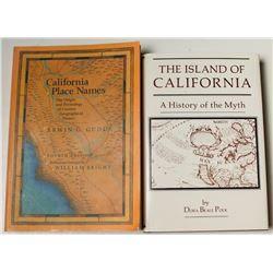 California Island and Place Names