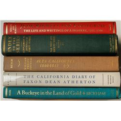 California Letters and Journals, 6 Volumes