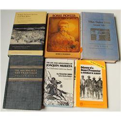 California Biographies, 6 Volumes