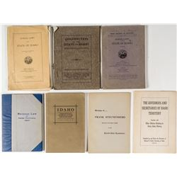 Legal and Historical Idaho Books