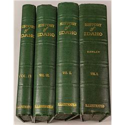 "4 Volumes of  ""The History of Idaho"""