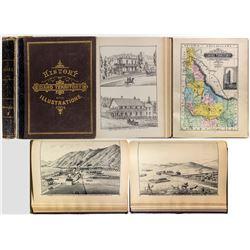 History of Idaho Territory / Elliott 1884 w/ Maps & Lithographs