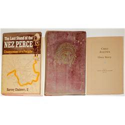 Nez Perce Indian Book Set (3)