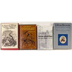 Five J. Ross Browne Volumes