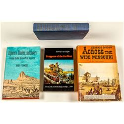 Explorers and Trappers, 4 Volumes