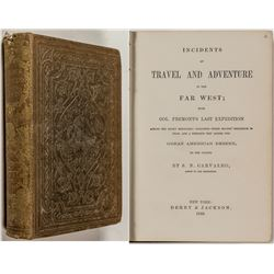Perilous Adventures in the Far West (1860) (Fremont)