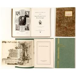 Two Stock Exchange History Books: San Francisco & New York