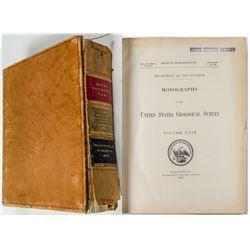 US Geological Survey Monographs
