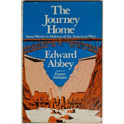 Edward Abbey Signed Copy of The Journey Home (1977)