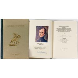 John Williams Gunnison Biography by Nolie Mumey (Signed)