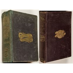 2 Volumes on Early Western History (1867 and 1869)