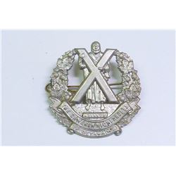 WWII, MILITARY BADGE CAMERON HIGHLANDERS