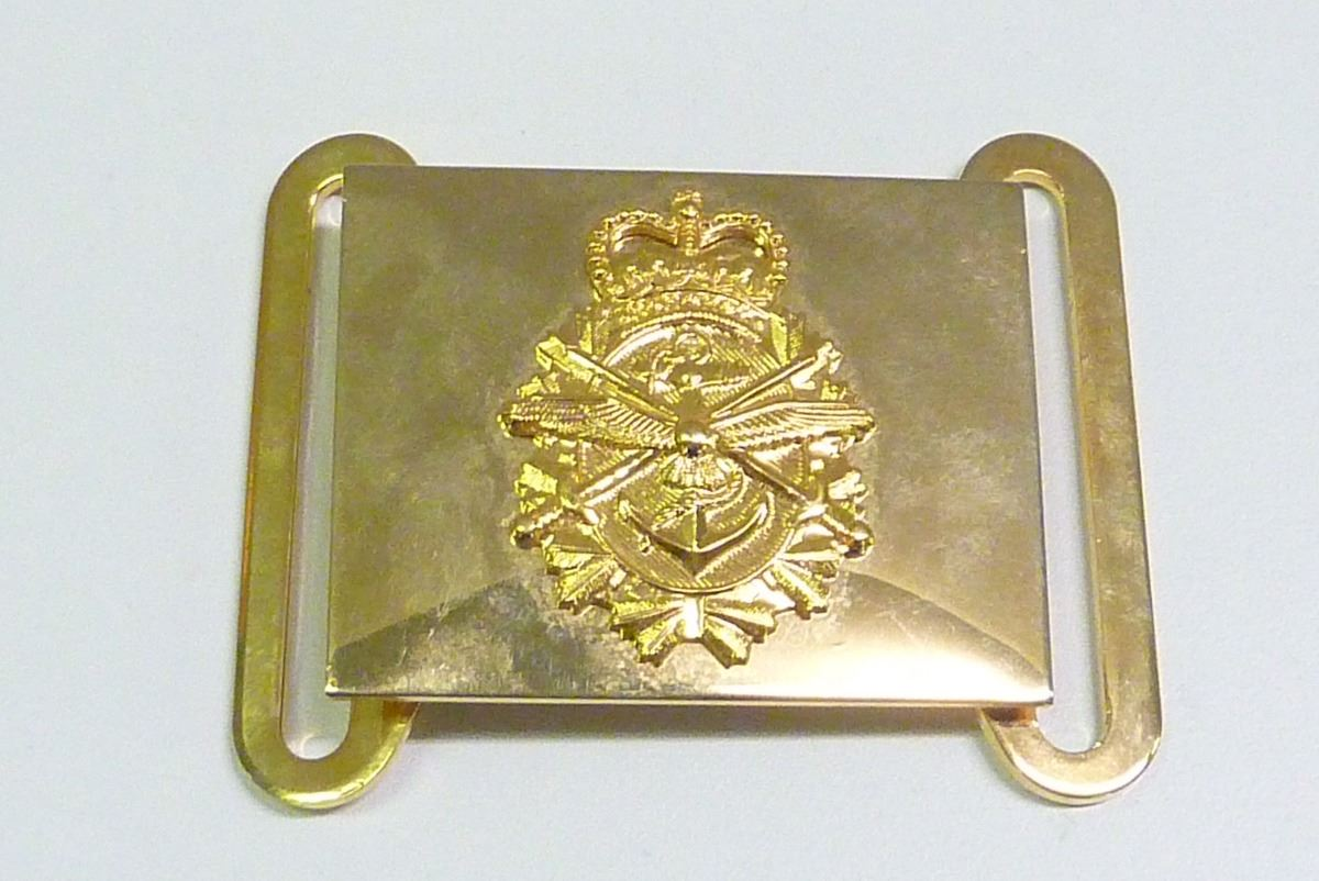 CANADIAN FORCES MILITARY DRESS BELT BUCKLE