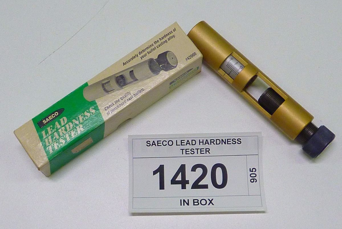 SAECO LEAD HARDNESS TESTER