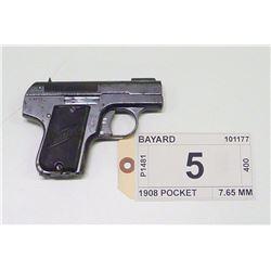 BAYARD , MODEL , 1908 POCKET , CALIBER , 7.65 MM