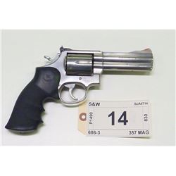 S & W, MODEL  686-3, CALIBER 357 MAG