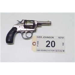 IVER JOHNSON , MODEL , 1900 DOUBLE ACTION , CALIBER , 32 S & W