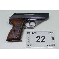 MAUSER , MODEL , HSC , CALIBER , 7.65MM