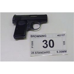 BROWNING , MODEL , 25 STANDARD , CALIBER , 6.35MM