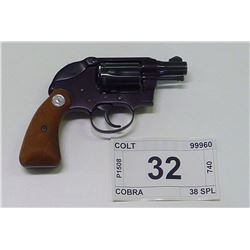 COLT , MODEL , COBRA , CALIBER , 38 SPL