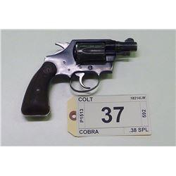 COLT, MODEL COBRA, CALIBER 38 SPL