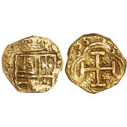 Bogota, Colombia, cob 2 escudos, 1683(G), rare, ex-Santa Fe collection.