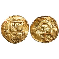 Seville, Spain, cob 4 escudos, (16)99M.