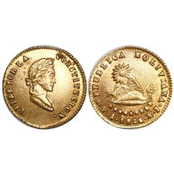 Potosi, Bolivia, 1/2 scudo, 1856MJ/FJ.