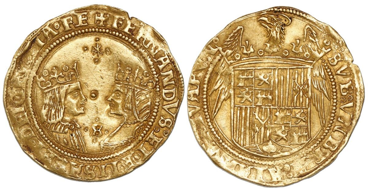 two dots gold coins