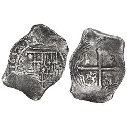 Mexico City, Mexico, cob 8 reales, 1652(P).