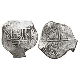 Mexico City, Mexico, cob 8 reales, (16)5(?)P.