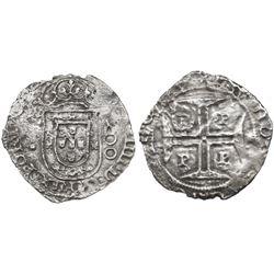 Porto, Portugal, 200 reis, Joao IV (1640-56), rare provenance.