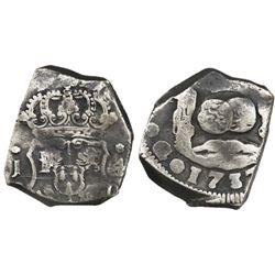 Guatemala, cob 4 reales, 1737J.