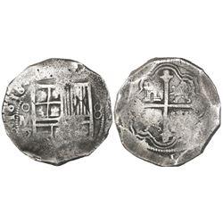 Mexico City, Mexico, cob 8 reales, 1618/7D/F, rare, ex-Sao Jose (1622).