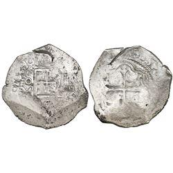 Mexico City, Mexico, cob 8 reales, 1639(P).