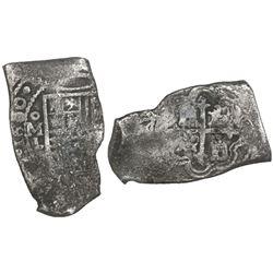 Mexico City, Mexico, cob 8 reales, 1680L, ex-Joanna (1682).