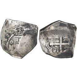 Mexico City, Mexico, cob 8 reales, (1)728(D), very rare, ex-Rooswijk (1739).