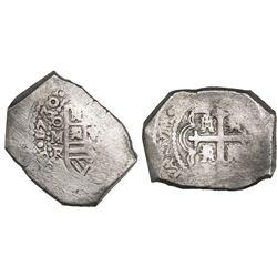 Mexico City, Mexico, cob 8 reales, 1730R, ex-Rooswijk (1739), ex-Kent Ponterio.