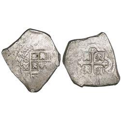 Mexico City, Mexico, cob 8 reales, 1730F, ex-Kent Ponterio.