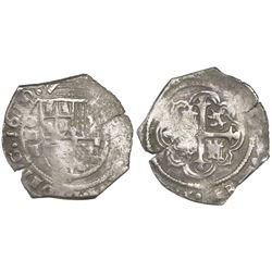 Mexico City, Mexico, cob 1 real, 1610F, rare, ex-Pullin, ex-Witte Museum.