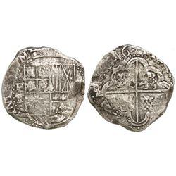 Potosi, Bolivia, cob 8 reales, (16)36T, rare.