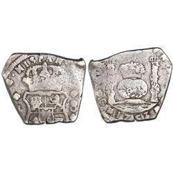 Guatemala, cob 8 reales, 1753J.
