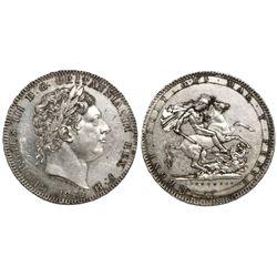 Great Britain (London, England), crown, George III, 1820.