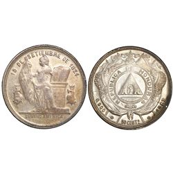 Honduras, 50 centavos, 1887/5.
