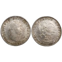 Mexico City, Mexico, 8 reales, 1822JM, Iturbide.